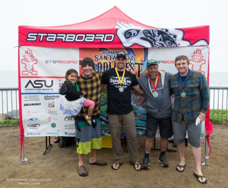 HP Mens Finalists. 1 Rusty Sage, 2 Dave Johnston, 3 Ben Doffe, 4 Marc Woolward.