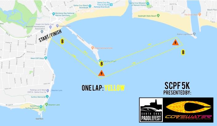race map 2019 5k